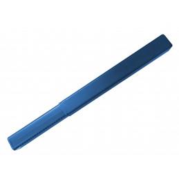 Juego de 15 tubos de plástico (22x22 mm) para productos de