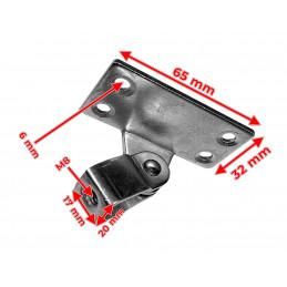 Montagebeugel voor onze gasveer 200N/350N/700N (hoekdeel)  - 3