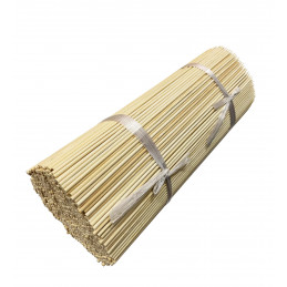 Set of 500 long bamboo sticks (3 mm x 50 cm, pointed on one side)  - 2