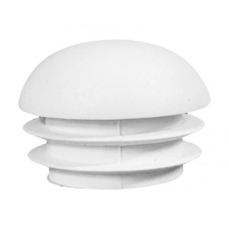 Set of 32 plastic chair leg caps (inside, ball, round