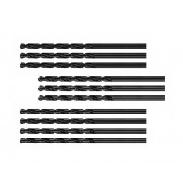 Jeu de 10 forets à métaux (HSS-R, 6,0x93 mm)  - 1