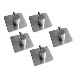 Set von 5 starken Haken für Küche und Bad (Modell A)