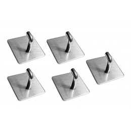 Set of 5 strong hangers for kitchen and bathroom (model B)  - 1