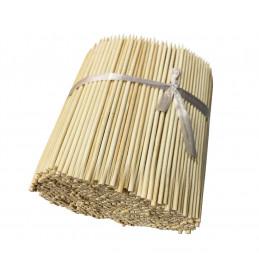 Lot de 1000 bâtons de bambou (4 mm x 18 cm)