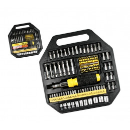 101 parts socket bit set with screwdriver  - 1