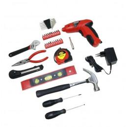 39 Teile-Set: gut gefüllte Toolbox  - 1
