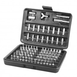 Complete set HSS bits and accessories (100 pieces)  - 1