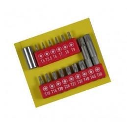 16-częściowy zestaw bitów torx  - 1