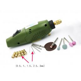 Mini elektrische frees, boor en graveermachine