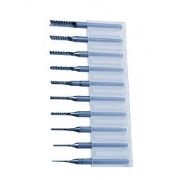 Zestaw mikro frezów w pudełku HQ (0,8-3,175 mm)  - 1