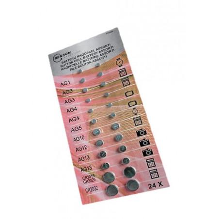 Set di batterie a bottone (confezione grande)