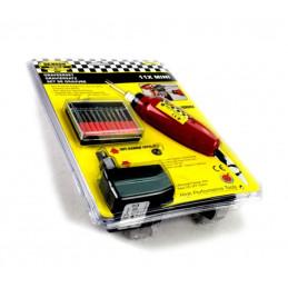 Mini gravador com 10 pontas de diamante  - 2