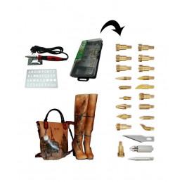 Set per incisione, set per marcatura (stufa a legna), 30 Watt