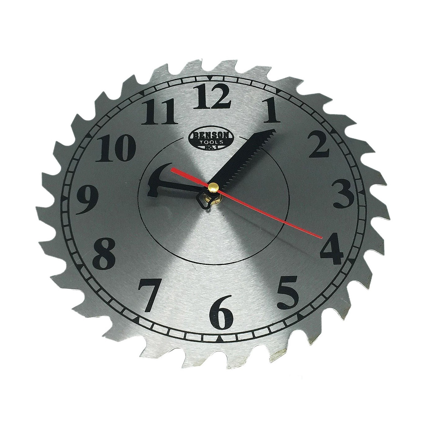 Garage shop clock, 25 cm  - 1