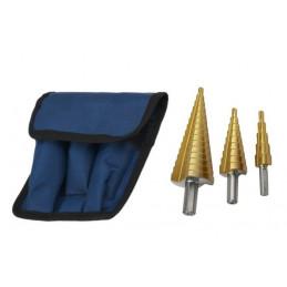 Establecer taladros escalonados (3 piezas)  - 1