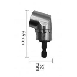 Haakse hoek opzetstuk adapter voor zeskant bits