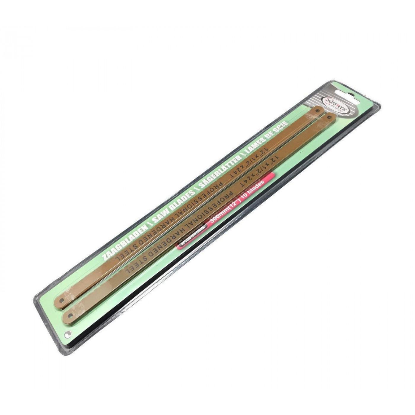 Metaalzaagbladen, 10 stuks, 300 mm, 24 tpi