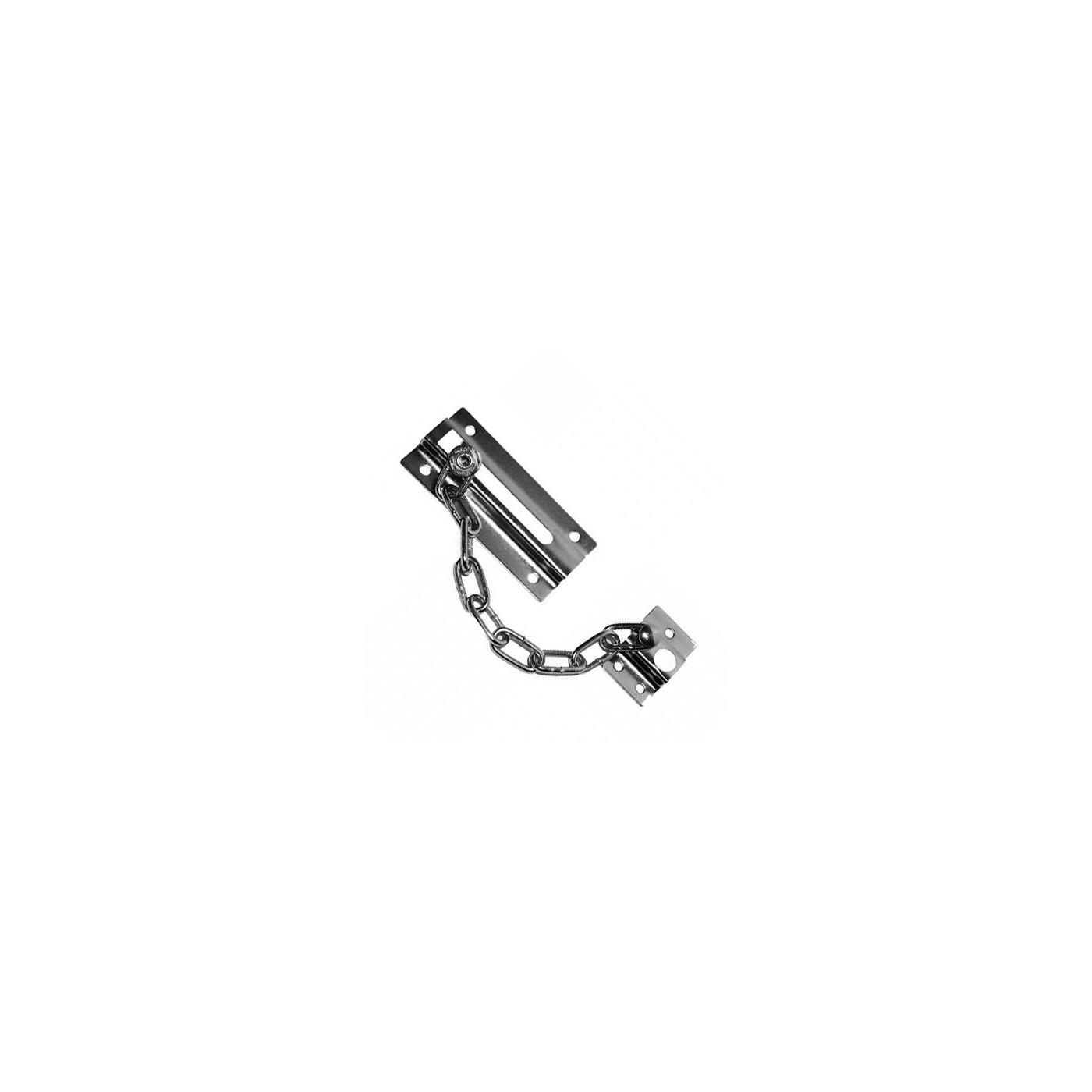 Serrure de porte à chaîne en métal
