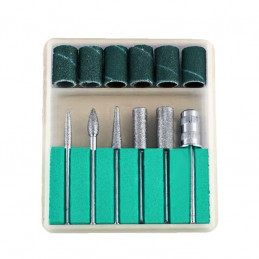 Set schuurhulsjes, schuurbandjes, 6 delig, voor multitools  - 1