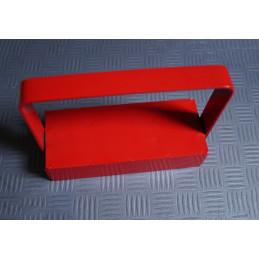 Crochet magnétique / crochet aimant rouge XL, avec poignée