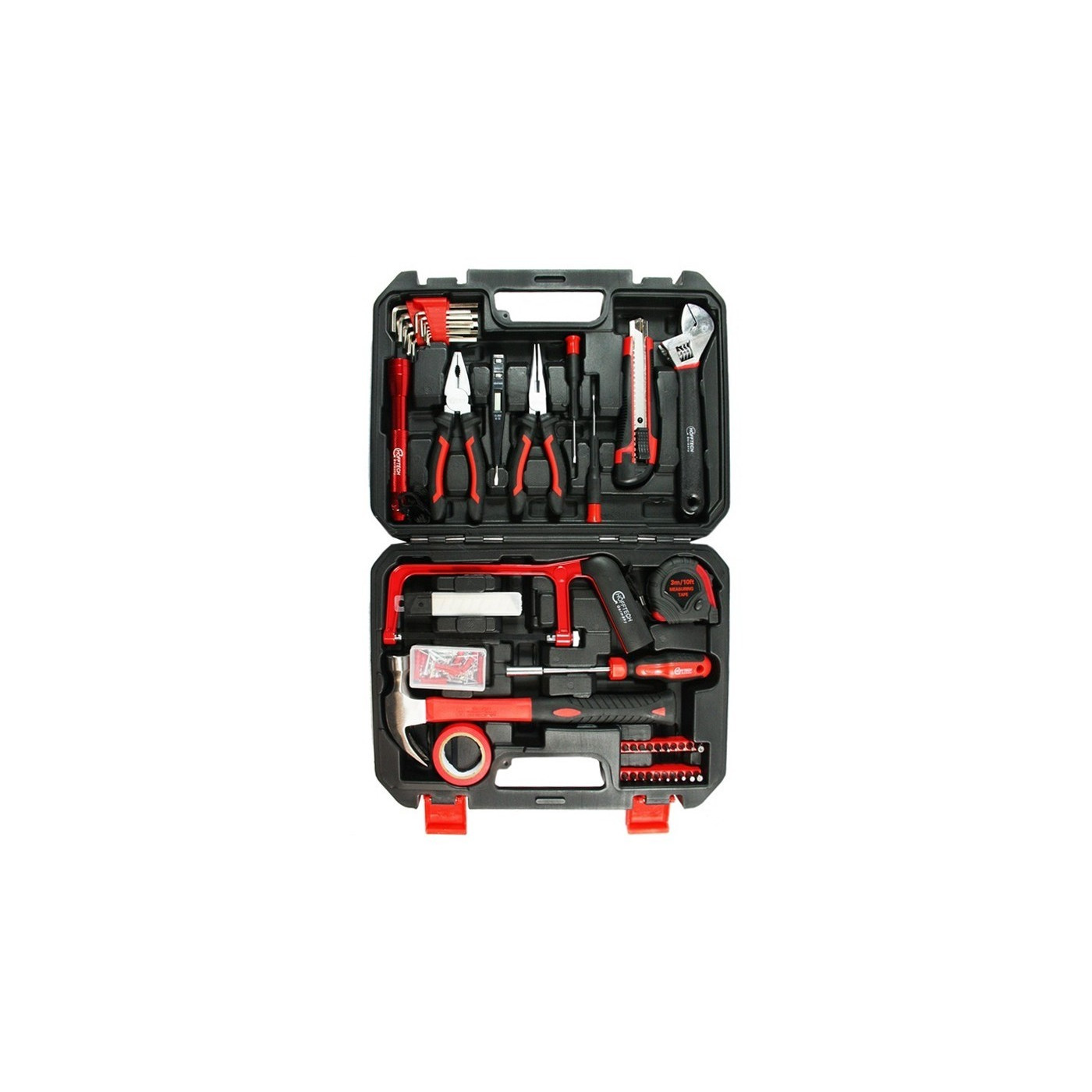 Gevulde gereedschapskoffer (108 delig)  - 1