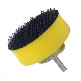 Schuurschijfhouder, 25 mm, voorzien van klittenband