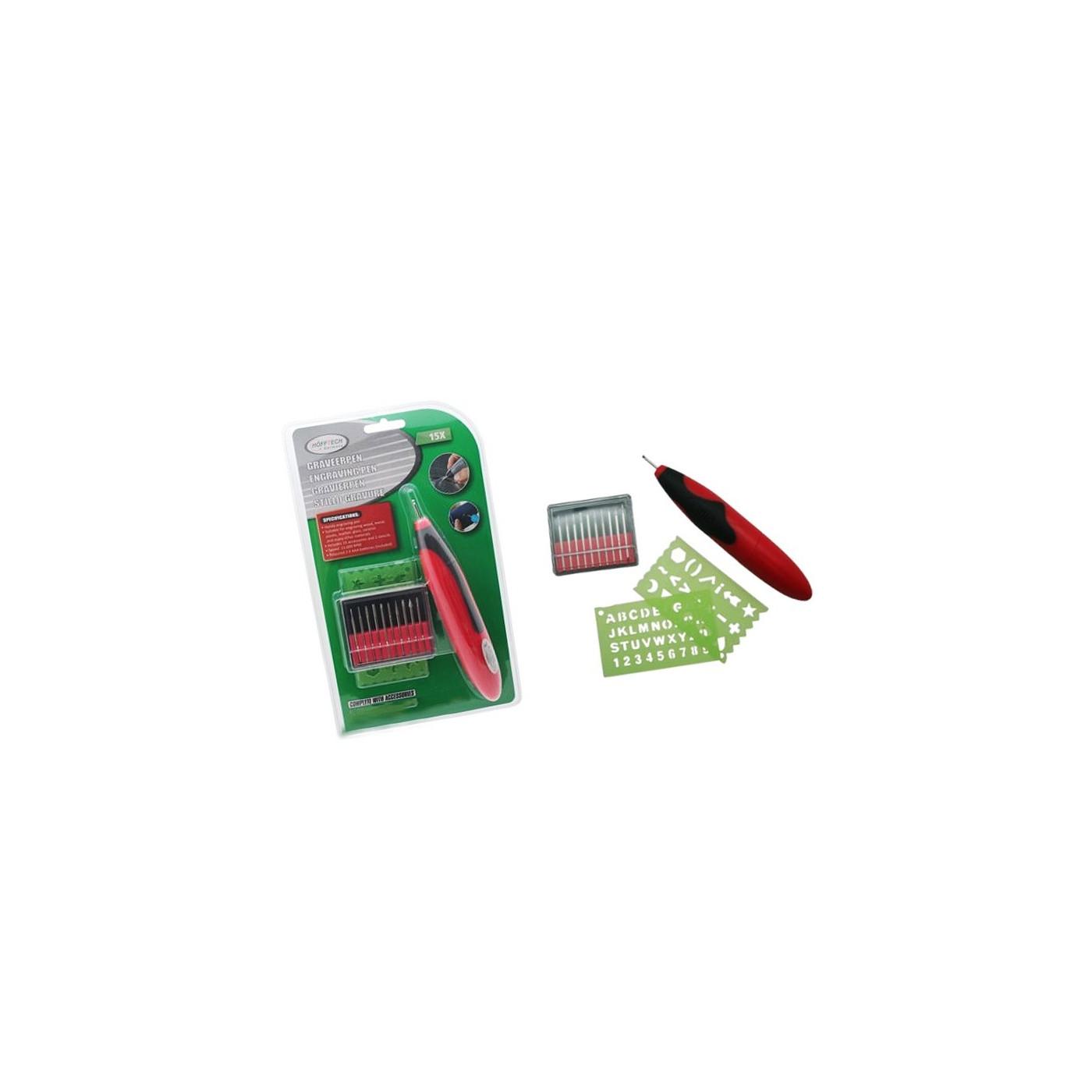 Mini gravador com acessórios (com baterias)  - 1