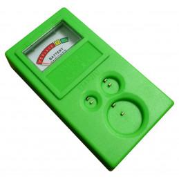 Testador de bateria para baterias de célula tipo moeda  - 1