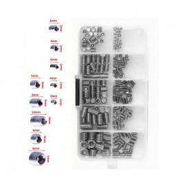 Conjunto de parafusos de fixação em uma caixa (M3-M8)  - 1