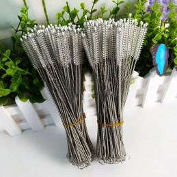 Conjunto longo de escovas de aço inoxidável para limpeza (40 unid.)  - 2