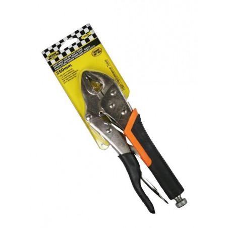 Locking pliers soft grip (250 mm)