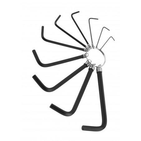 Jeu de clés Allen simples (10 pièces)  - 1