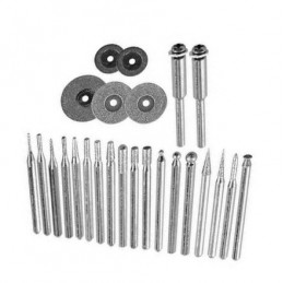 Set of grinding wheels diamond, 25 pieces, 3.2 mm  - 1