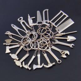 Chaveiro conjunto de presente faça você mesmo ferramentas (20 peças)  - 1