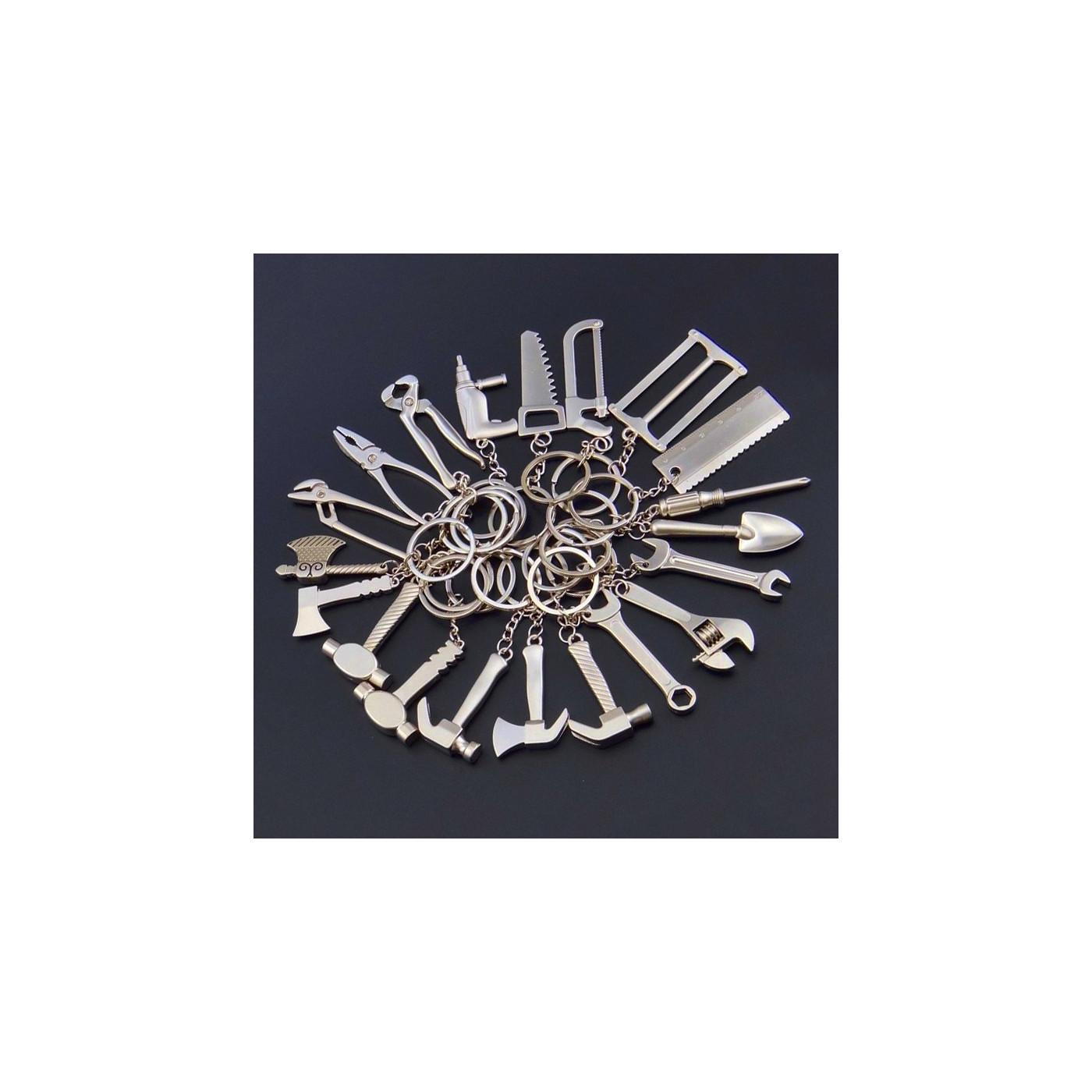 Gift set key ring do it yourself tools (20 pcs)