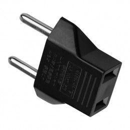 Set of 20 plug adapters (USA to EUR)