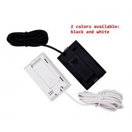 Termómetro LCD blanco con sonda (para acuarios, etc.)  - 2
