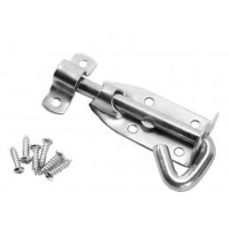 Controle deslizante da porta, gancho da porta, trava da porta, fechadura da porta (10 cm)  - 1