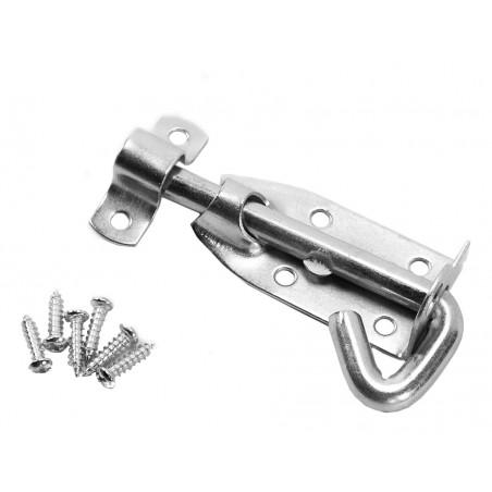 Door slider, door hook, door latch, door lock (10 cm)  - 1