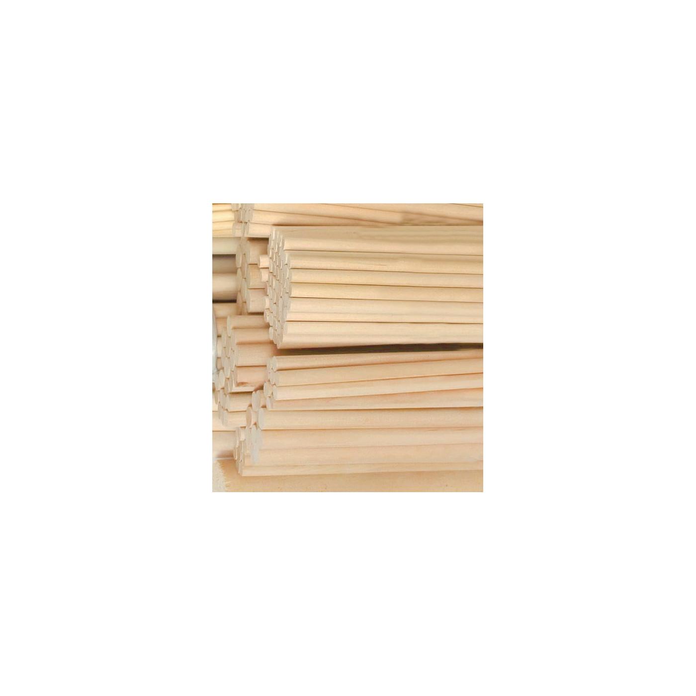 Set von 100 Holzstäbe (9.5 mm x 20 cm, Birke)  - 1