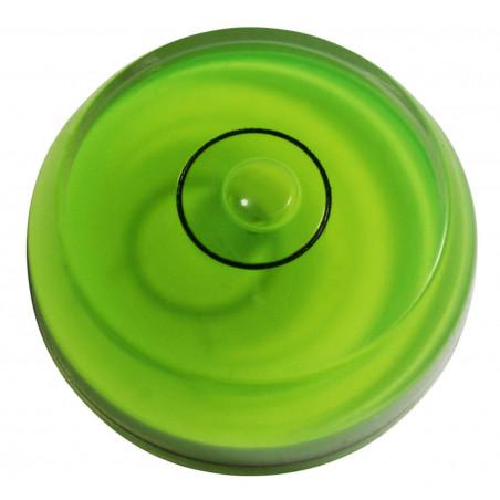 Set von 10 Wasserwaagen (grün, abgerundet)