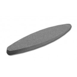 Piedra de afilar, piedra de amolar, ovalada, 225 mm de longitud  - 1