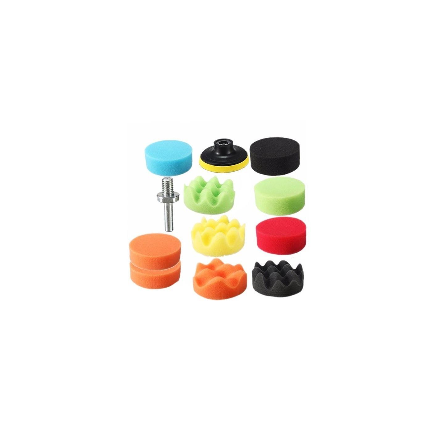 Set de polissage (éponges) avec adaptateur m10