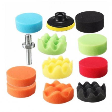 Polishing set (sponges) with m10 adapter  - 1