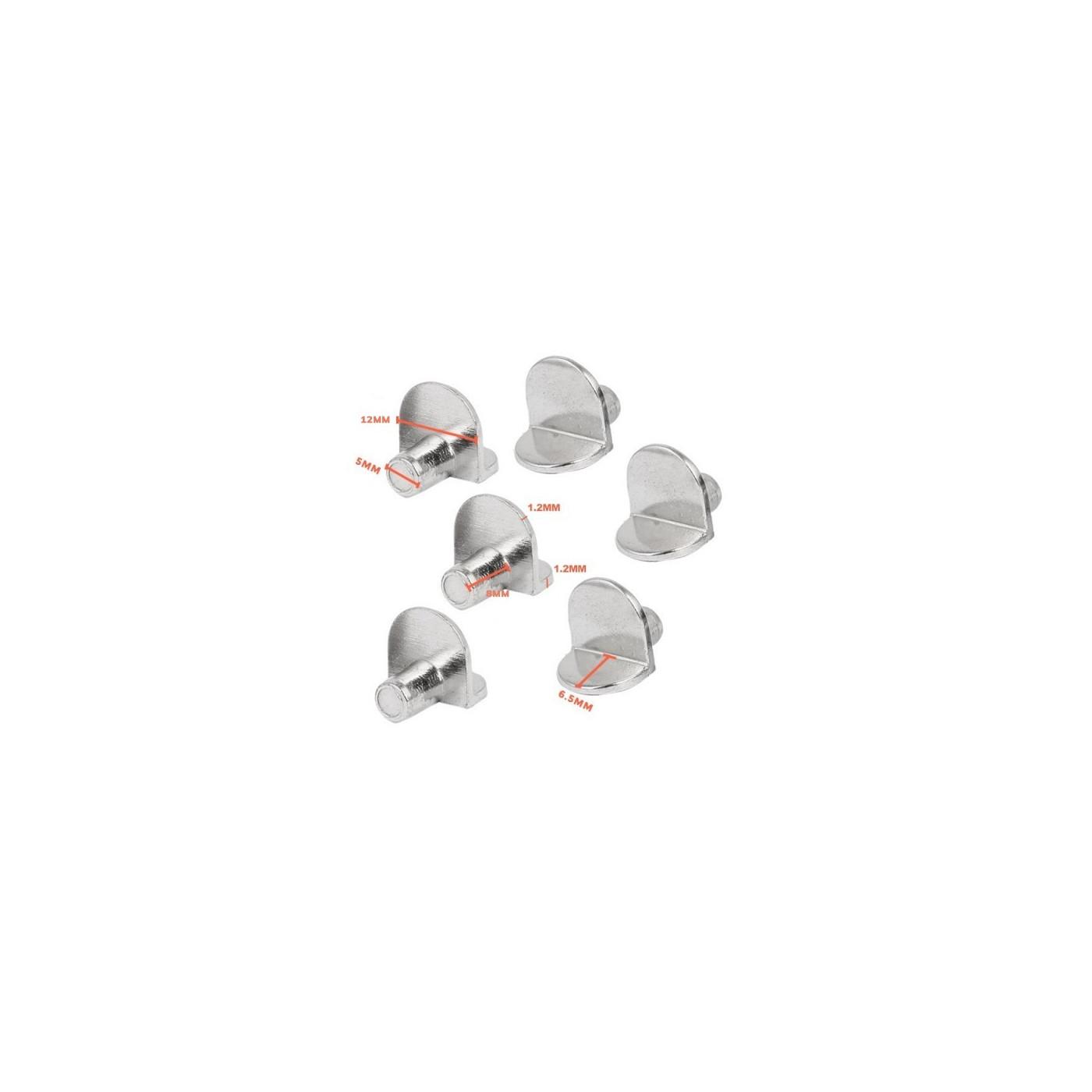 Set van 150 plankendragers (5 mm pinnetjes)  - 1
