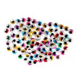 Mueva los ojos con pestañas, artículos de decoración, 840 piezas  - 2