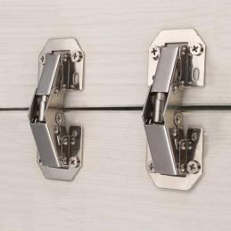 Jeu de 16 charnières d'armoire en métal (taille 2: 115 mm)  - 4