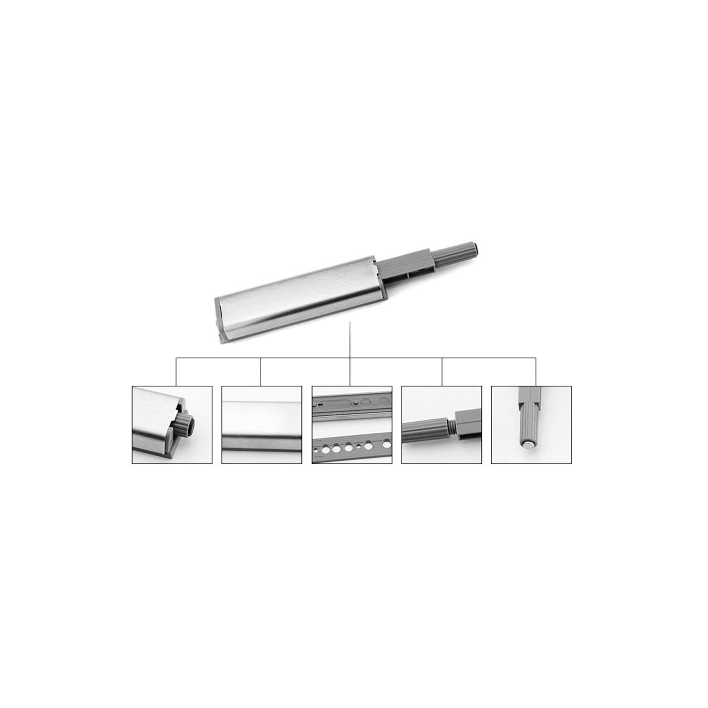 Set di 12 snapper magnetici push-to-open per ante di armadi