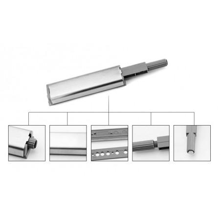 Set van 12 magnetische druksnappers voor kastdeuren (smal)
