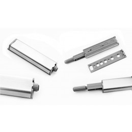 Conjunto de 12 cierres a presión magnéticos para puertas de armario  - 3